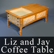 Liz and Jay Coffee Table