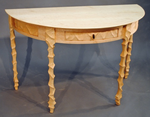 Caviness Demi Lune Table