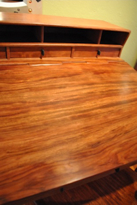 Grovewood Bubinga Stand Up Desk Lid